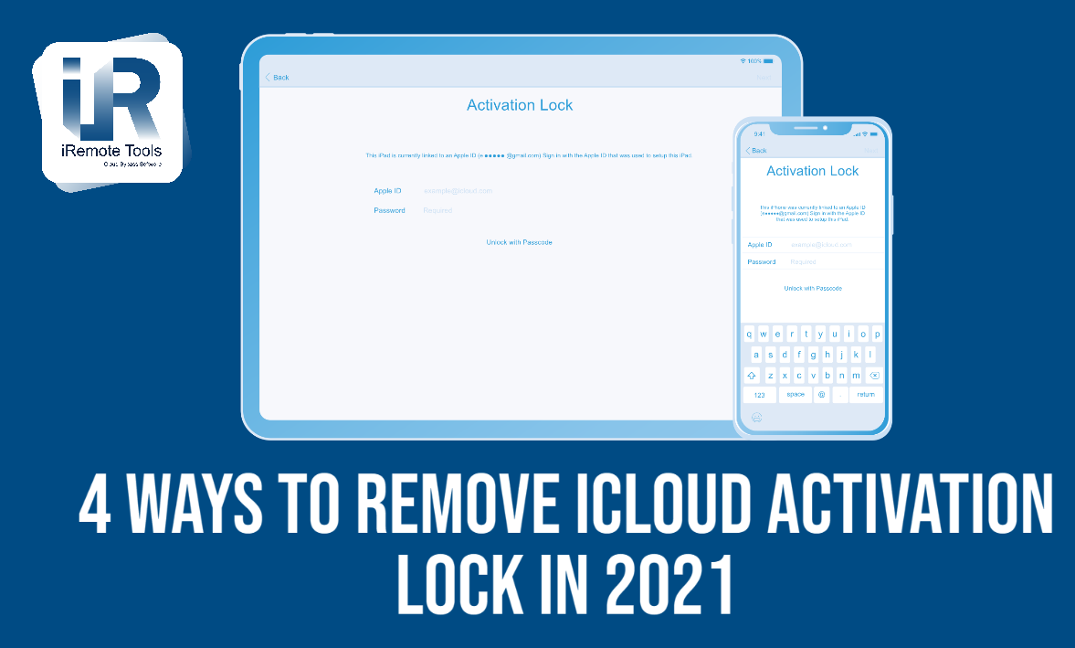 Four Ways to Remove iCloud Activation Lock Without Passcode