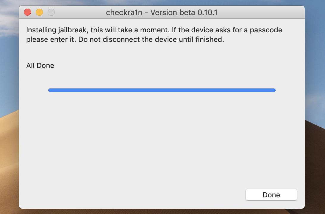 Checkra1n Jailbreak iOS 13 via  iRemove FMI OFF Software
