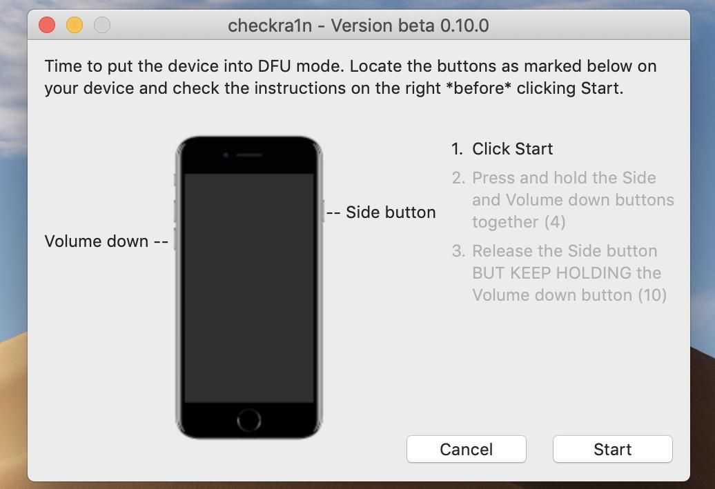 Checkra1n Jailbreak iOS via iRemove FMI OFF Software