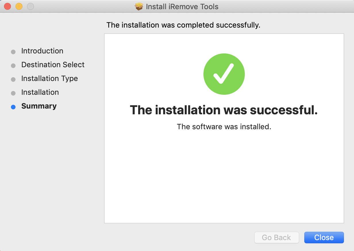 How to install iRemove Software step 4