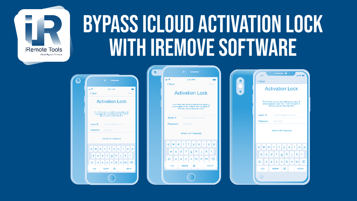 Bypass iCloud Activation Lock with iRemove software