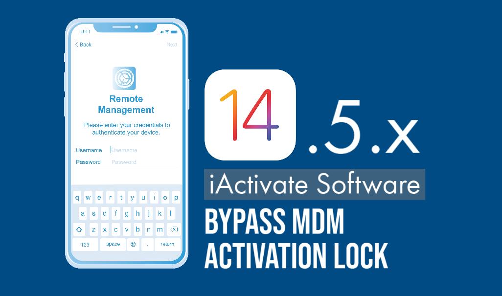 bypass MDM Profile (MDM Activation Lock Screen) on iPhone & iPad iOS 14.5 or iOS 14.5.1
