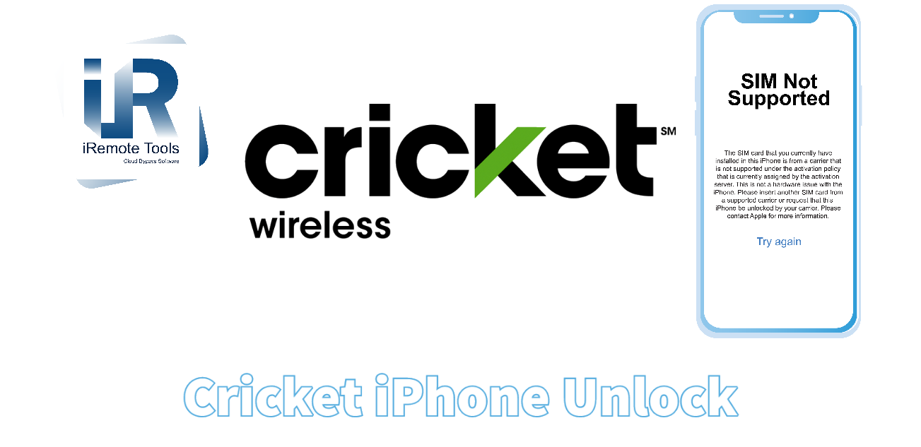 Cricket Unlock iPhone Service for SIM-locked Devices
