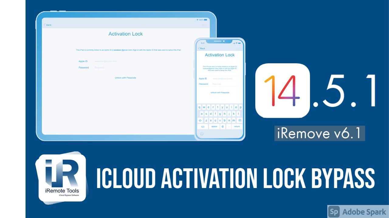 iCloud Activation Lock Bypass on iOS 14.5 & iOS 14.5.1