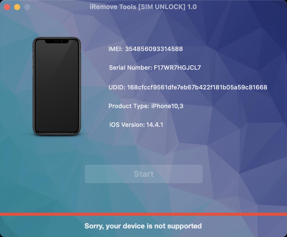 Step 18. Phone SIM [Carrier] Unlock
