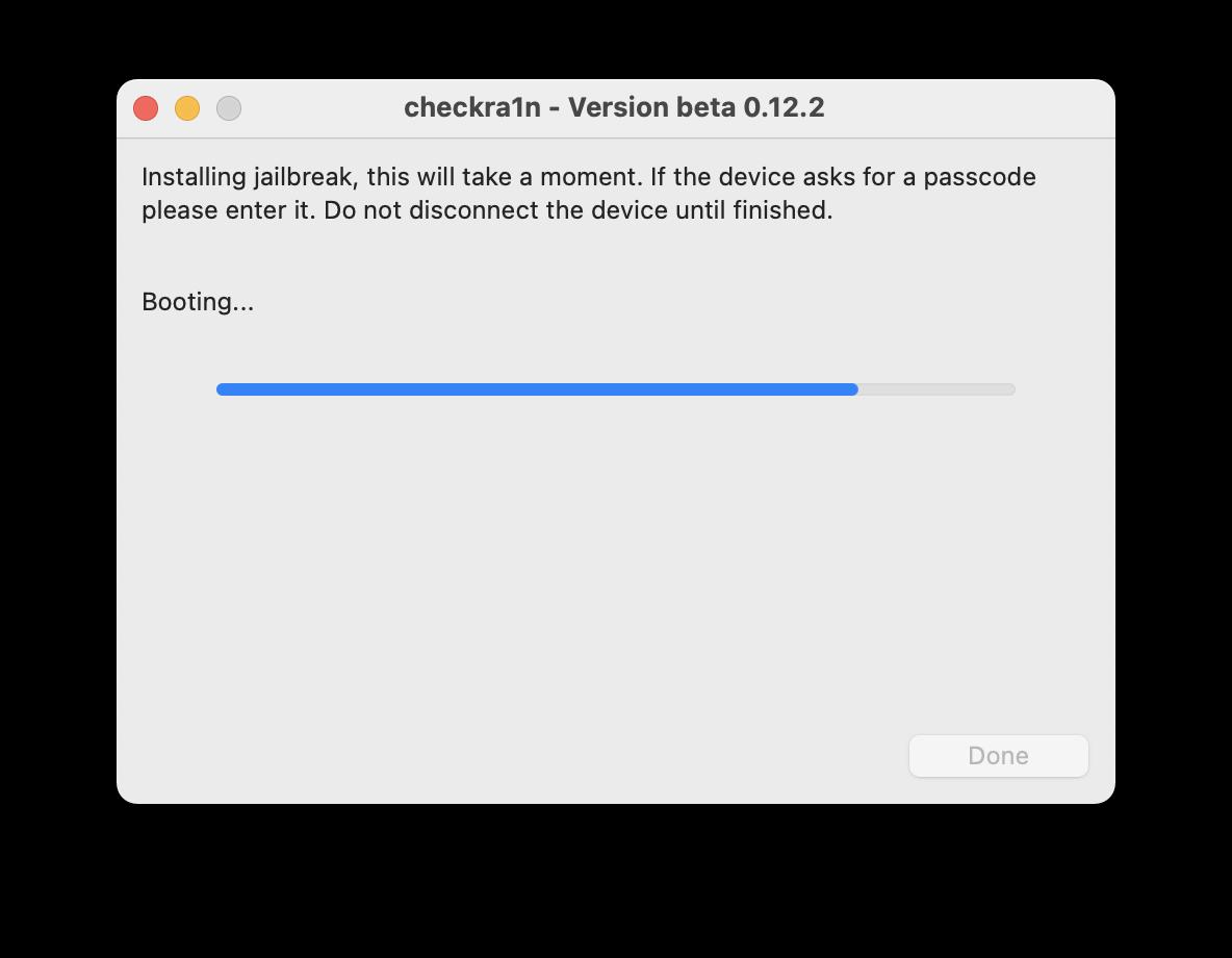 complete Jailbreak iOS 14.5 via Checkra1n