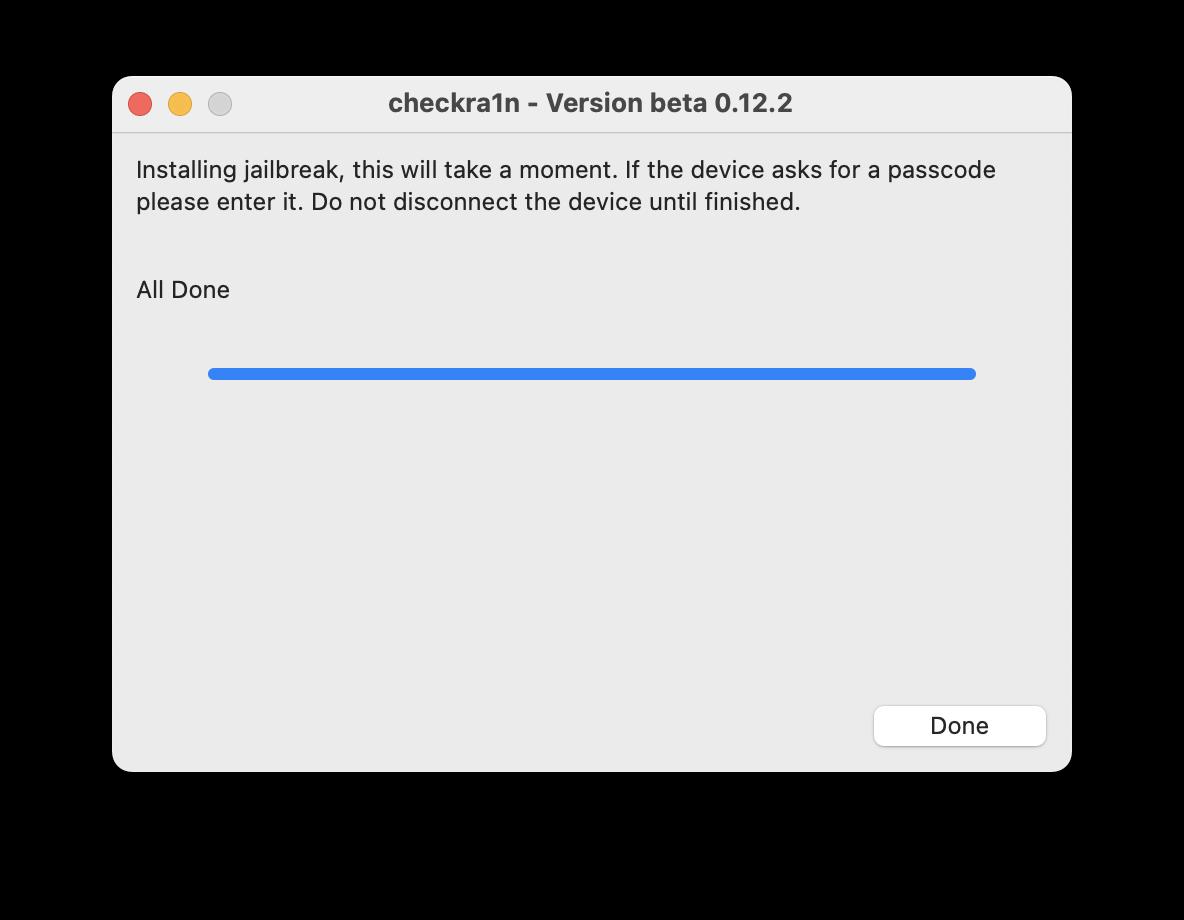 Jailbreak iOS 14.5 via Checkra1n is done