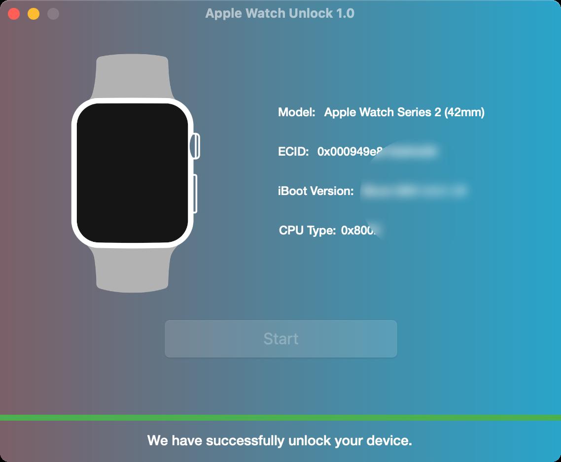 Apple Watch Unlock Software