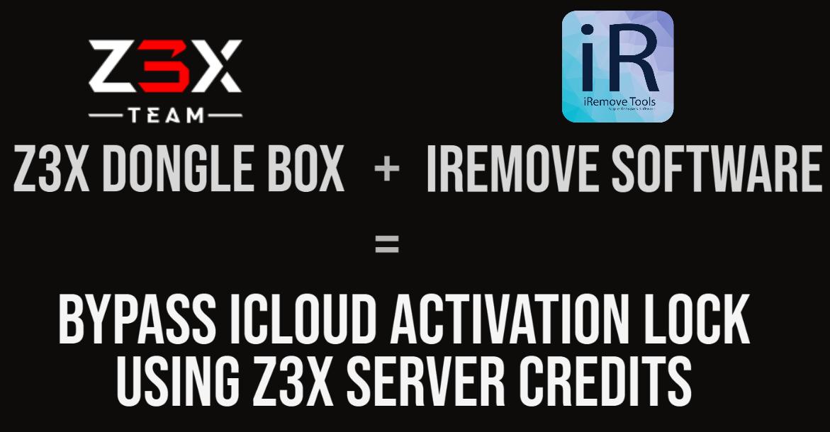 Use Z3X Dongle Box Credits & iRemove Software