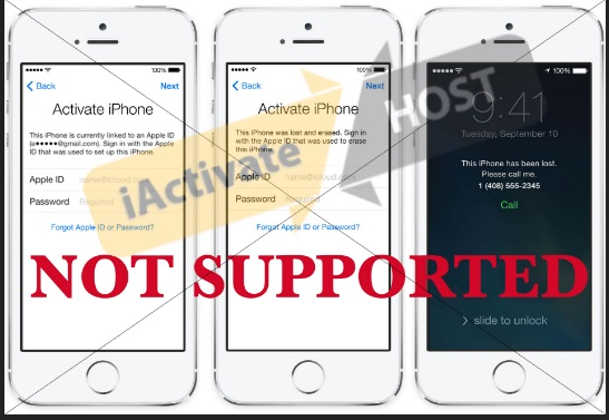iActivate does not unlock iCloud Activation Lock