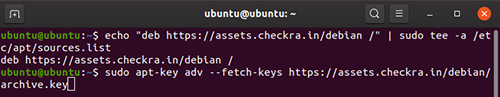 2 step install Checkra1n ubuntu