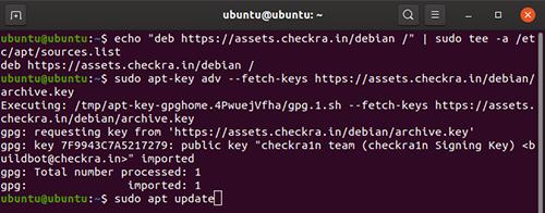 3 step install Checkra1n ubuntu