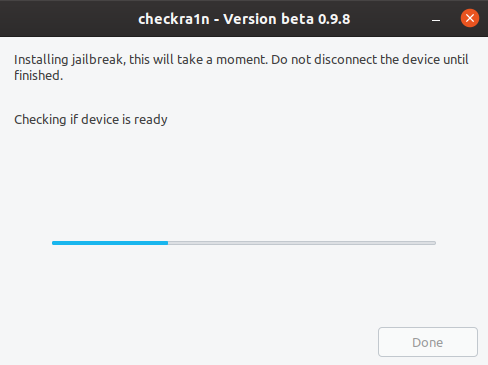 Checkra1n - jailbreak iOS step 2