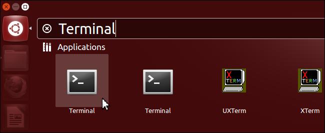 Ubuntu Live USB Terminal